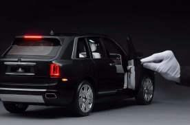 豪车买不起,豪车车模也奢侈,库里南1:8车模,你猜多少钱