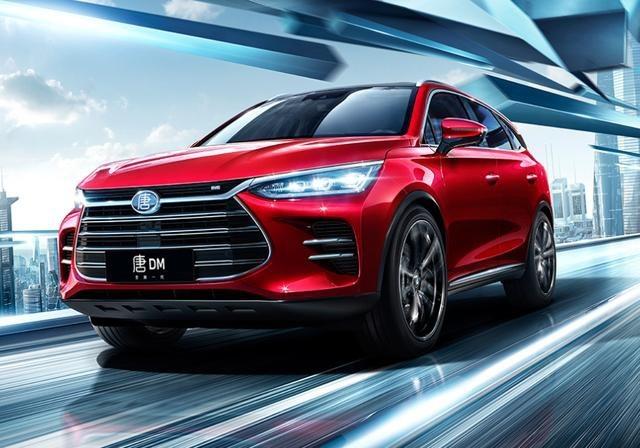 同期销量超越唐,仅次于宝马5系,这电动车能成国产新代表?