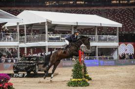 奥运骑手、宝马、良驹成功齐聚北京国际马术大师赛