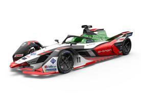 电驱纯自研,征战新赛季,奥迪ABT车队发布新版FE赛车