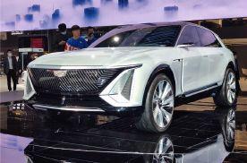 2021上海车展:走向未来凯迪拉克Lyriq首次亮相