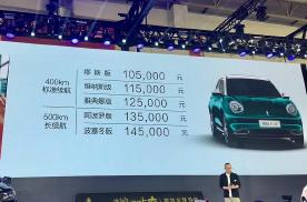 2020北京车展:10.5万元起 欧拉好猫开启预售