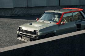 雷诺5 Turbo改装,造型大胆前卫,动力高达400马力