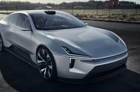 Polestar Precept四门电动轿跑即将在华投产