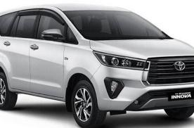 新款丰田MPV车型Innova海外正式亮相 提供6座及7座布