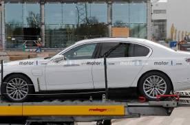 续航里程有提升!宝马7系纯电动版车型最新消息曝光!