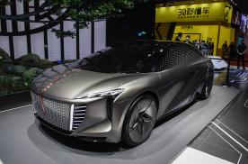 明确设计语言,指引未来方向,红旗EV概念车首发亮相