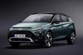 现代全新BAYON官图发布 新车定位小型SUV