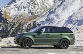 揽胜运动版SVR新款上市,售价189.8万,竞速绿车身亮了