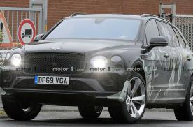 宾利添越长轴版谍照曝光 新车预计2021年上市