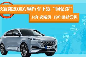 长安汽车破了2000万,必须扒扒它的2014年和2018年!
