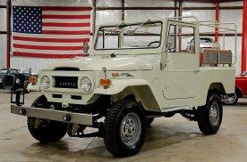 标价4.29万美元的1970年丰田FJ43,修复非常完美