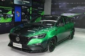 2021粤港澳车展:名爵MG6 X POWER运动感十足