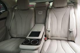 新款奔驰S320L改装后排电动座椅电动调节座椅效果