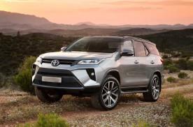 2021款全新丰田Fortuner将于6月4日泰国首发