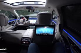 试乘试驾全新一代奔驰S500,车厢氛围太惊艳了