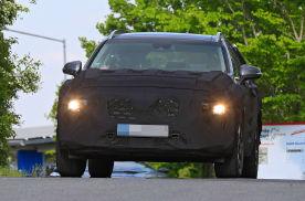 现代胜达改款车型预告片发布 采用新的大灯造型