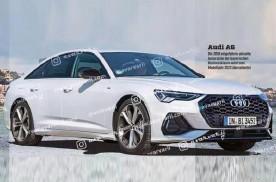 新款奥迪A6实拍图曝光 预计2022年中旬上市