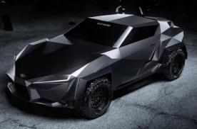 丰田的硬核概念车,基于Supra打造,犹如黑夜精灵还能防弹
