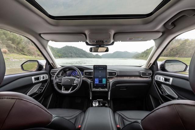美国大型SUV销冠、销量超800万台,全新第六代福特探险者来中国了