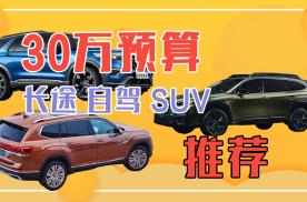 30万旅行自驾SUV推荐,舒适 空间 动力,哪位能入您眼?