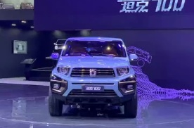 2021上海车展:坦克品牌全新SUV车型坦克700全球首发