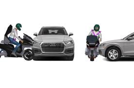 一撞车就弹射,GTR设计工作室推摩托车弹射安全座椅
