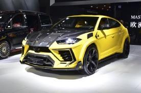 2021年上海车展:迈莎锐全新车型迈莎锐Urus正式发布