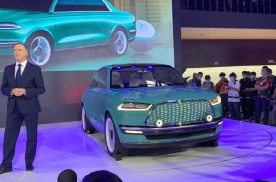 2020北京车展,长城潮派实车亮相,复古科技对开门,牛了?