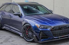 全新奥迪RS 6升级版车型曝光 新车全球限量125台