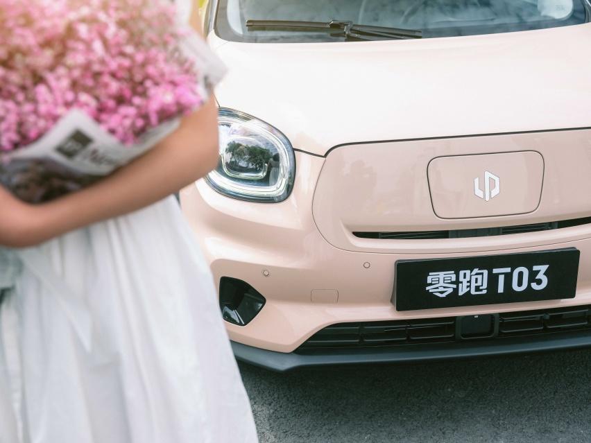 零跑T03的粉色世界,温柔而又充满智慧