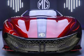 MG新概念车曝光,拉风造型强劲动力,或成上海车展最亮眼车型