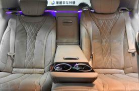 奔驰S320后排电动座椅改装案例,是S级车主最释怀的一件事