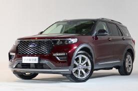 主打空间的中大型SUV 国产福特探险者将上市