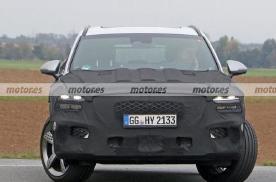 捷尼赛思GV70运动版车型谍照曝光 将搭载2.0T发动机