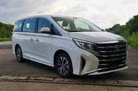 新款广汽传祺M8北京车展亮相 最快月底就能买