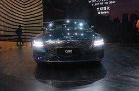 2021上海车展丨定位纯电中大型轿车 捷尼赛思纯电G80亮相