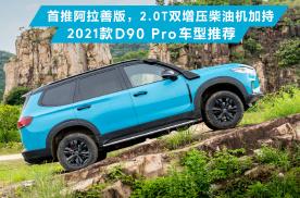 首推阿拉善版,2.0T双增压柴油机加持,2021款D90 Pro车型推