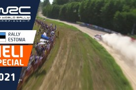 【直升机视角】2021 WRC爱沙尼亚站精彩镜头