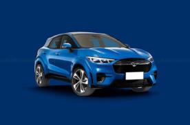 福特Mustang全新纯电SUV车型渲染图 外观设计运动范