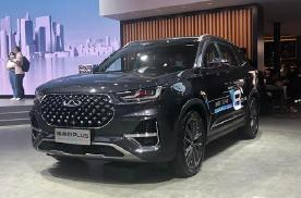 奇瑞瑞虎8 PLUS轻混版 正式发布亮相北京车展