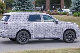 日产全新SUV谍照曝光 定位中大型级别 预计2021年发布