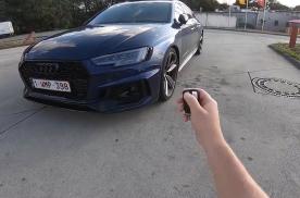 第一视角开豪车:奥迪RS4 Avant改装版