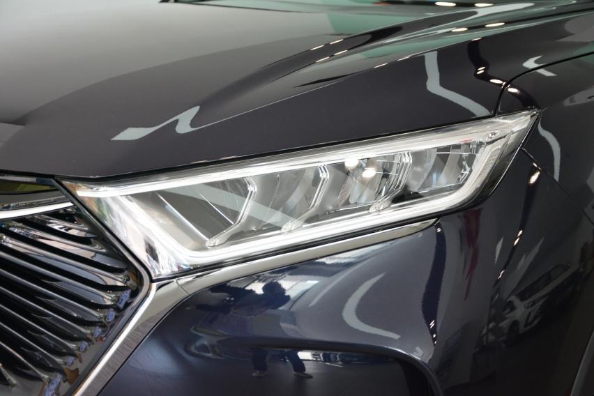 配置升级 性价比更高 2021款长安欧尚X7到店实拍
