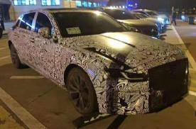 新款捷豹XFL谍照曝光 将亮相于4月份上海车展