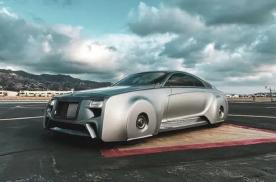 未来的劳斯莱斯长这样?贾斯汀·比伯定制的幽灵座驾把概念车带到