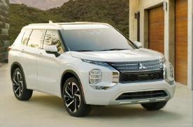 三菱全新一代欧蓝德发布,一台可以合法上路的概念车!