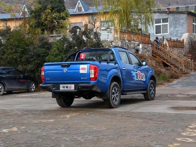 搭2.3T+8AT,郑州日产新款锐骐6售12.48万起