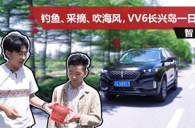 2.0T动力强劲,科技配置丰富,自驾2020款WEY VV6