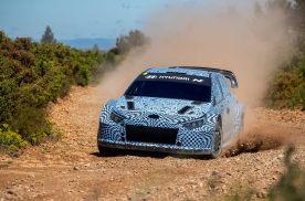 基于i20 N,现代汽车开始为2022赛季测试WRC赛车